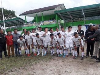 Para pemain LPI Kota Padang Panjang.