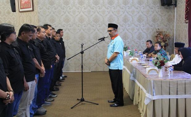 Pelantikan pengurus PWI Kab. Solok.
