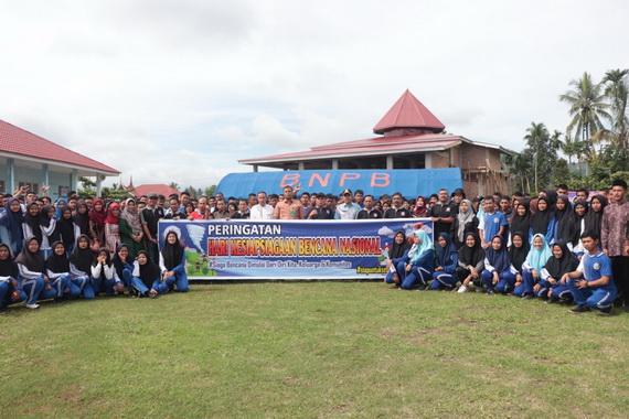 Peringatan Hari BPBD di Kota Payakumbuh.