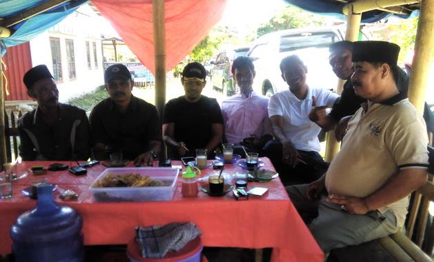 Pertemuan tokoh dan warga Tanah Garam usai pencoblosan Pemilu 2019.