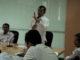 Prof. Ganefri saat memberi motivasi.