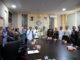 Rektor UNP dan jajaran bersama Rektor Univ. PGRI Palembang usai penandatangan MoU.