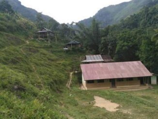 Sekolah yang telah selesai dibangun tapi belum difungsikan.