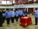 Sekwan DPRD Provinsi Sumatera Barat saat mengambil Sumpah pejabat yang dulantik dilingkungan DPRD Sumbar