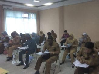 Uji kompetensi calon tiga kepala dinas di Payakumbuh.