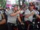 Walikota Padang Mahyeldi Ansyarullah juga ikut bersepeda dalam Gowes sepada Nusantara 2019 di Padang.