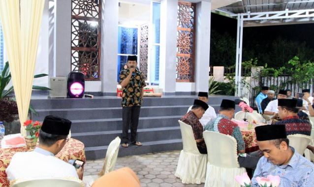 Buka bersama Ketua DPRD Kota Solok.