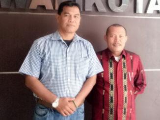 Elafki bersama Ketua PWI Kab. Solok.