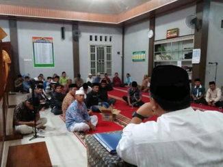 Kunjungan TSR Khusus Kota Solok di Mushalla A Munawarah Ampang Kualo.