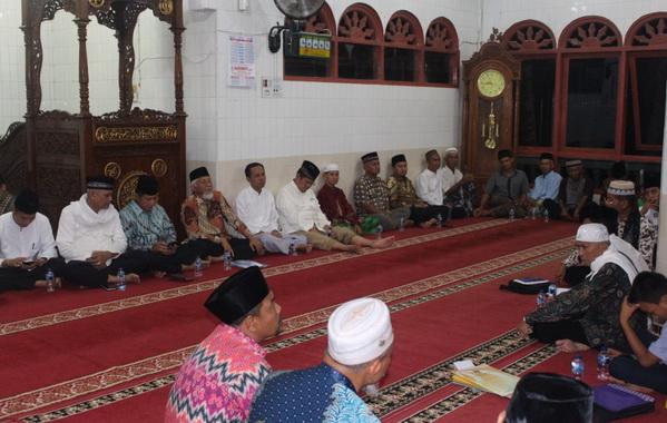 Kunjungan TSR Prov. Sumbar ke Mesjid Al Ikhwan Bukit Kili, Kab. Solok.