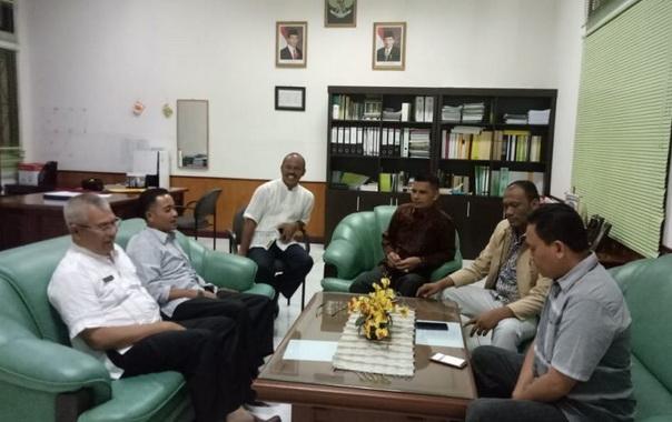 Kunjungan kerja DPRD pasaman ke Kuantan Singingi provinsi Riau.
