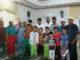 Leonardy bersama pengurus dan jamaah Masjid Al Mudatstsir Pampangan Nan XX Kota Padang.