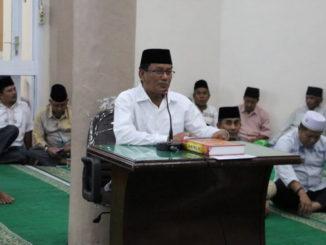 Nasir Ahmad saat memberi sambutan.