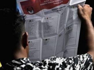 Penghitungan perolehan suara untuk DPRD Kab. Padang Pariaman.