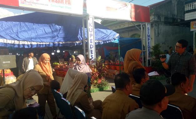 Peninjauan Pasar Pabukoan di Kota Payakumbuh.