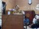 Sekda Tanah Datar Ir.Helfi Rahmi Harum sedang memberikan pengarahan.