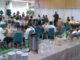 Suasana berbuka bersama di gedung Indo Jalito Batusangkar.