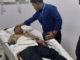 Sukardi saat dirawat di RS Daya Makassar