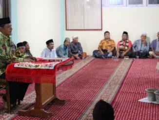 Wabup Yulfadri Nurdin saat memberi sambutan.