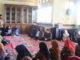 Bupati Gusmal saat memberikan sambutan pada Halal Bilhalal di BKD Kab. Solok.