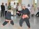 Guberur Irwan Prayitno menyakasikan penampilan silat.
