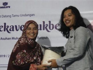 HMJ DKV ISI Padangpanjang Menyerahkan Bantuan pada Panti Asuhan Muhammadiyah Batipuah.