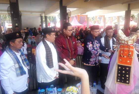 Halal Bihalal Gebu Minang Jawa Timur.
