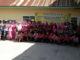 Kapolres dan Ketua Bayangkari bersama anak yatim Panti Asuhan BPAY Nagari Tanjuang Barulak.