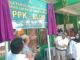 Peresmian PPK-BLUD di UPTD Laboratorium Kesehatan Dinas Kesehatan Sumbar di Gunung Panggilun Padang.