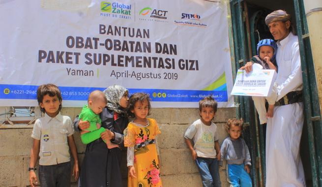 Posko ACT di Yaman.