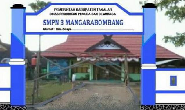 SMPN 3 Mangarobombang.
