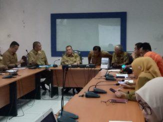 Sidak OPD hari pertama masuk kantor setelah Lebaran Idul Fitri.