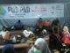Suasana di Pos Siaga Lebaran PMI Kota Solok.
