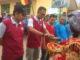 Suasana penyambutan acara pulang Basamo anak nagari Sibarambang