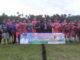 Wabub Yulfadri Nurdin saat menghadiri pembukaan Turnamen Paiala Wali Nagari Talang.