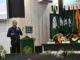 Wako Riza Falepi saat memberi orasi ilmiah di UMSB.