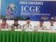 Walikota Fadly Amran pada konferensi pers persiapan ICGE-VII2019 di Balaikota Padang Panjang.