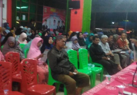 Openhouese di kediaman Ketua DPRD Kota Solok.