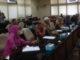 Anggota KMM Jaya saat diskusi dengan DPRD Sumbar