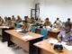 Calon kepala SKPD di lingkungan Pemerintah Kabupaten Pasaman saat tes tertulis.