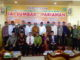 Foto bersama usai peresmian IAI Sumbar di Pariaman.
