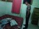Korban penganiayaan berat di Mentawai saat dijenguk petugas.