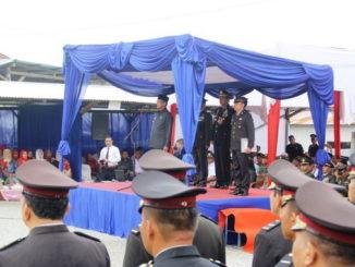 Peringatan HUT Bhayangkara ke 73 di Kab. Solok.
