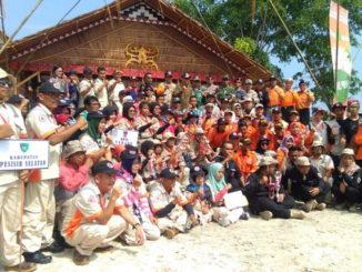 Peserta Jambore Kebencanaan di MMentawai.