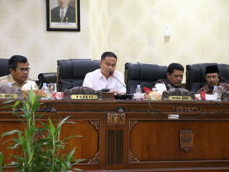 Rapat Paripurna di DPRD Kab. Agam.