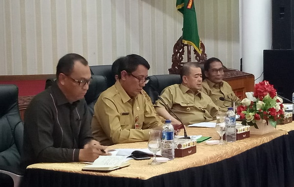 Rapat Pembahasan Rencana Penataan Desa di Kabupaten Mentawai.