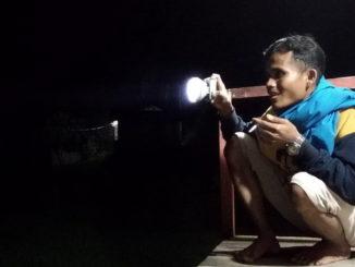 Ronda malam di Sawah Sudut, Muara Panas.