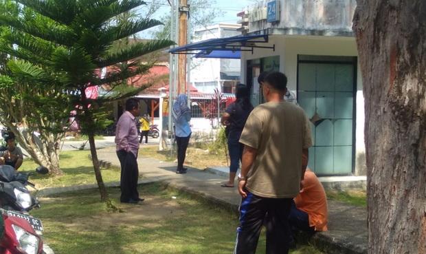 Salah satu mesin ATM Bank Nagari di Tua Pejat,