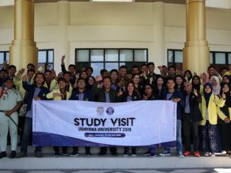 Study Visit mahasiswa Univ. Udayana di UNP.