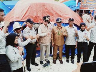 Wabup Nasrul Abit pada pelaksanaan PRB di Mentawai.
